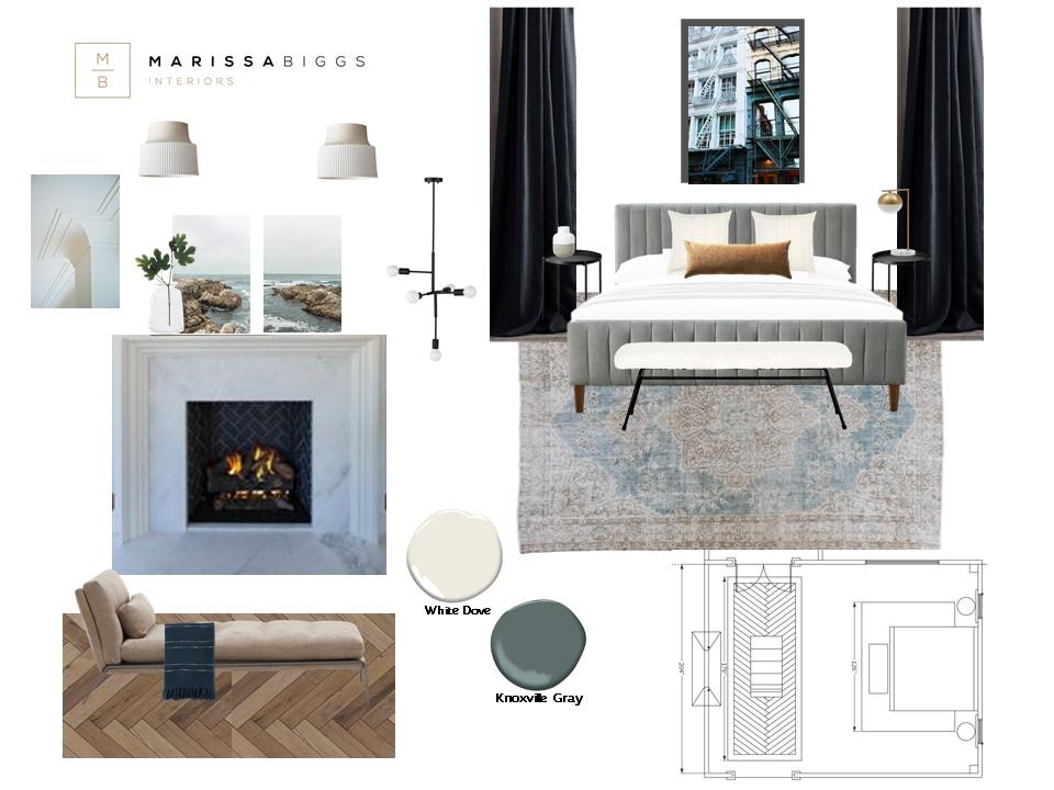 Modern Bedroom E-Design