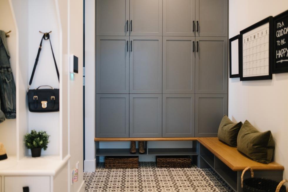 Cement Tile Back Entry